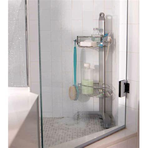 bathroom accessories freestanding corner shower caddy by