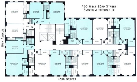 terrace towers floorplans new york usa