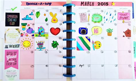 doodle a day ideas create 365 the happy planner doodle a day me