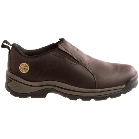timberland slip on work boots timberland chocorua work shoes for 9605f save 40