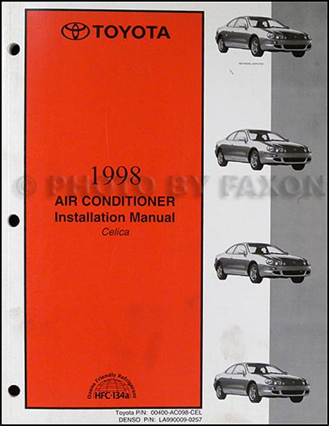 auto air conditioning repair 1994 toyota celica electronic toll collection 1998 toyota celica ss ii automatic related infomation specifications weili automotive network