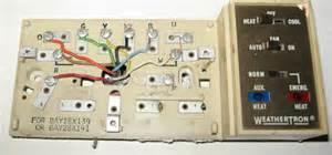weathertron thermostat wiring diagram weathertron free engine image for user manual