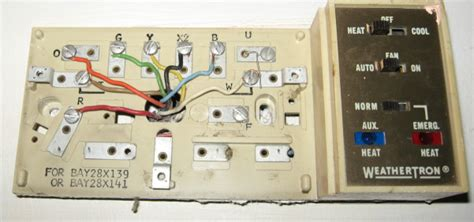 trane weathertron thermostat wiring diagram i a trane air handler model bwh730a100a1 hooked