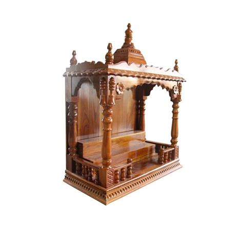 buy home decor items online india traditional sagwaan pooja mandir with front railings