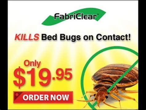 as seen on tv bed bug spray fabriclear bed bug spray as seen on tv fabriclear bed bug