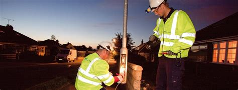 how to report a broken street light west sussex street lighting services