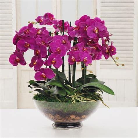 quality silk orchid centerpiece silk flower arrangements