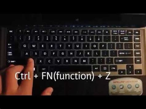 asus laptop how to turn on/off keyboard backlight