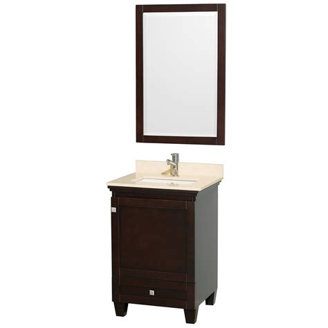 Wyndham Bathroom Vanity wyndham collection wcv800024sesivunsm24 acclaim 24 inch