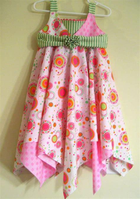 pattern handkerchief dress girls handkerchief dress pdf sewing pattern tutorial