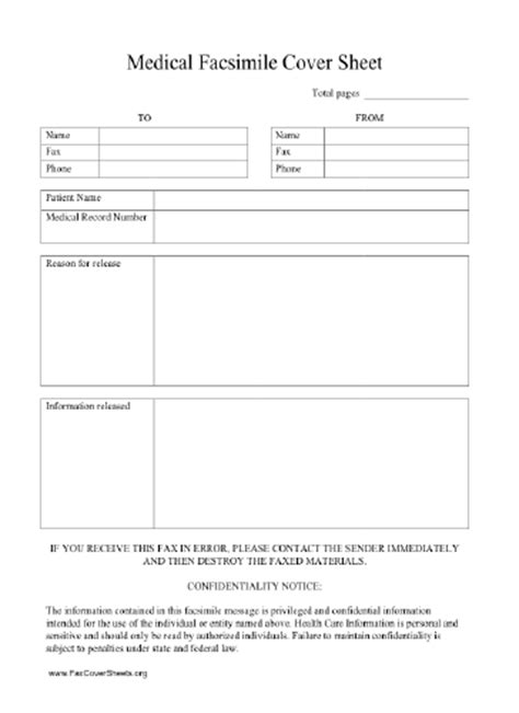 Hipaa Fax Cover Sheet Hipaa Compliant Fax Cover Sheet Template