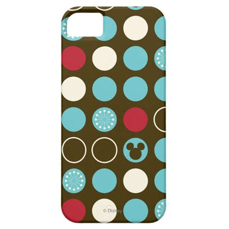 Vintage Disney Mickey Mouse Y0987 Iphone 5 5s Se Casing Premium mickey mouse retro polka dot pattern iphone se 5 5s