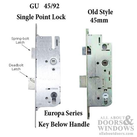 andersen 60 inch series sliding patio door sizes g u monolock 45 92 single door lock key below lever