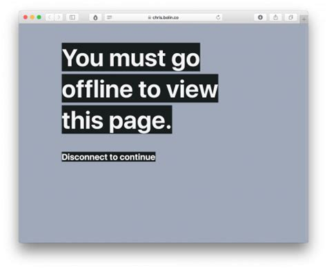 how to read offline swissmiss go offline to read