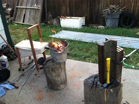 Backyard Blacksmithing by Classes
