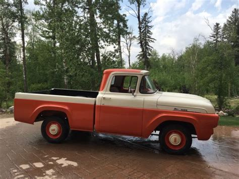 1958 ford truck 1958 ford f100 bed up truck solid western