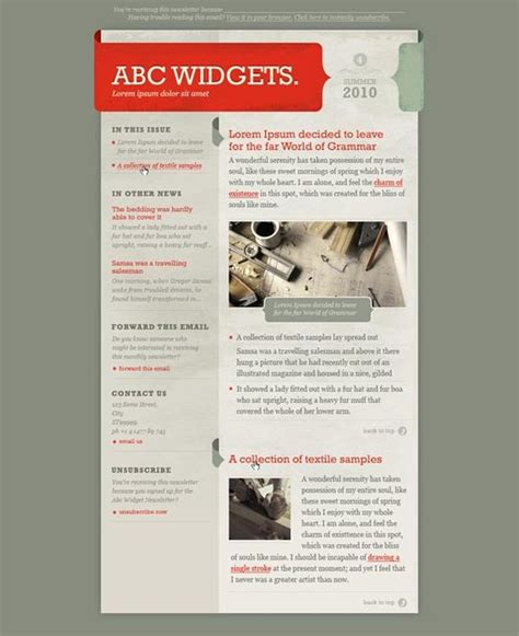 design newsletter header newsletter template design inspiration pinterest
