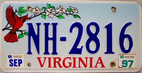 Va Vanity Plates by Virginia Yellow License Plate Image Mag