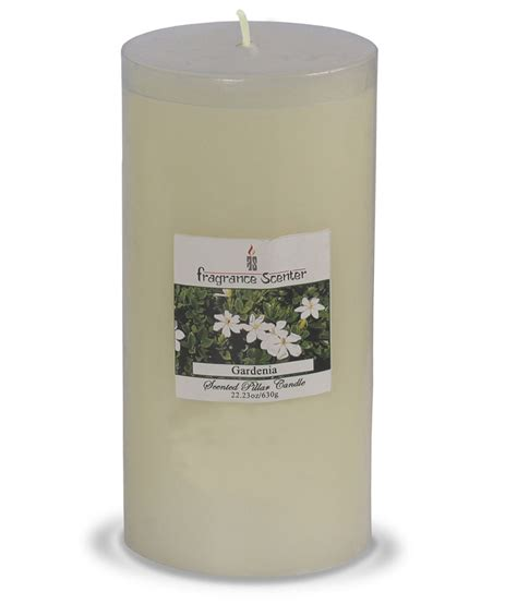 Gardenia Candles Fragrance Scenter Gardenia Pillar Candle Big Buy