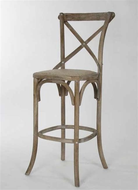 houzz counter stools zentique parisienne cafe bar stool in limed grey oak