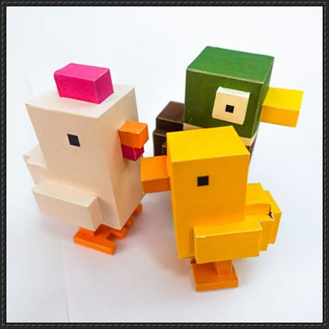 Chicken Papercraft - chicken papercrafts papercraftsquare