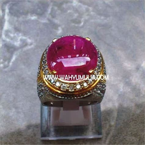 Cincin Batu Ruby Big Size Memo batu permata ruby big size sold permatasatu