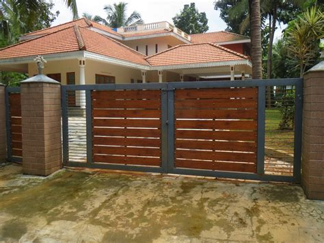 design of gate for house kerala gate designs house gates in kerala india