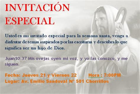 imagenes de invitaciones catolicas el poder del evangelio