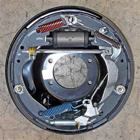 ford drum brake diagram how then now how drum brakes work napa how
