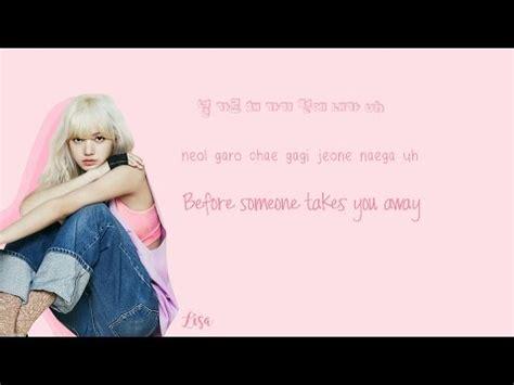black pink boombayeh lyrics color coded blackpink