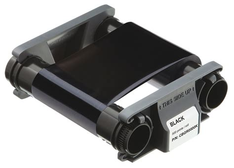 Monochrome Black Ribbon 2000 Image Print For Matica Espresso evolis rct023naa ribbon 2 000 prints black easybadges