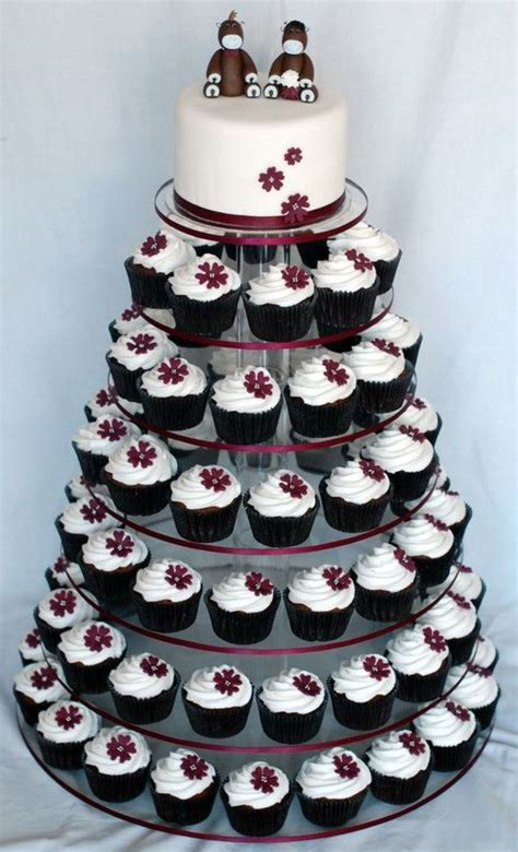 Wedding Cupcake by Aubergine Wedding Cupcake Tower Cakecentral