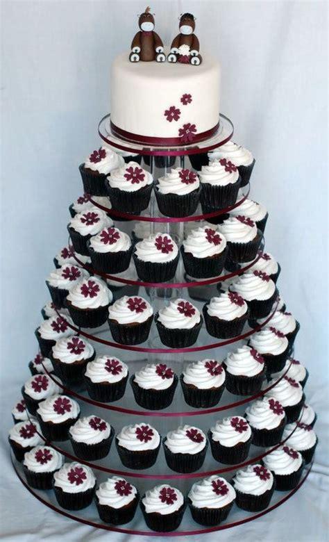 Cupcake Wedding Cake by Aubergine Wedding Cupcake Tower Cakecentral