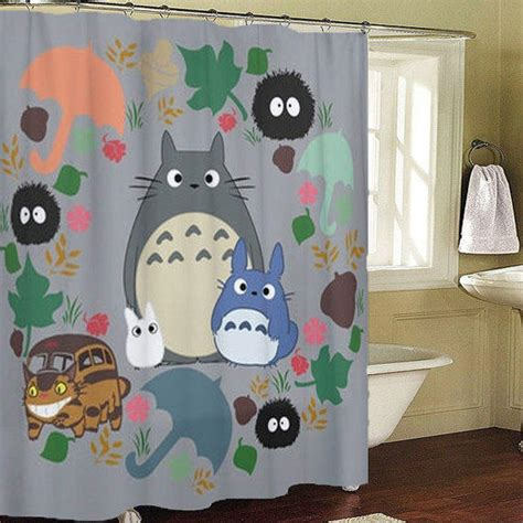 Totoro Bedroom Decor by Totoro Kawaii My Shower Curtains From