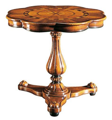 tavoli classici di lusso tavolo con fusto unico per salotti classici di lusso