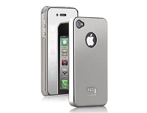 Cameron Screen Protector Iphone 4 mate chrome iphone 4 with mirror screen protector gadgetsin
