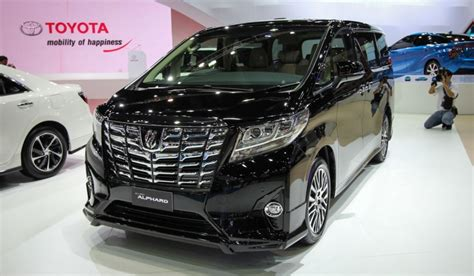 2016 Toyota Alphard 3 5 Q At umw toyota set to launch hilux in q2 2016 alphard and