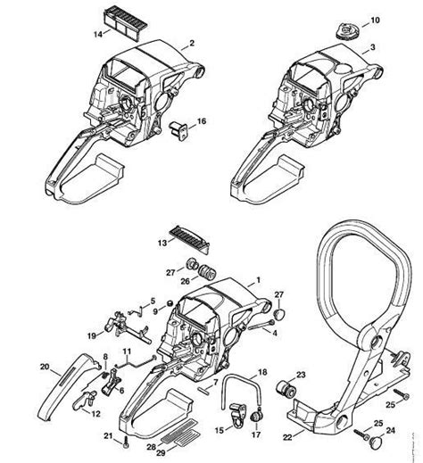 stihl ms290 chainsaw parts diagram stihl 390 wiring diagram stihl get free image about