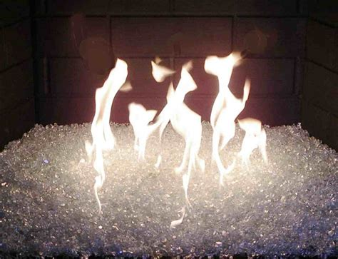 Glass Fireplace Rocks by Glass How To Use It