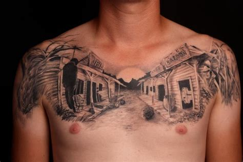 western cowboy tattoos designs 45 western tattoos