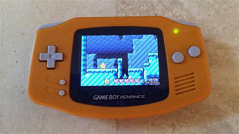 backlit gameboy color this week s purchase orange gameboy advance with