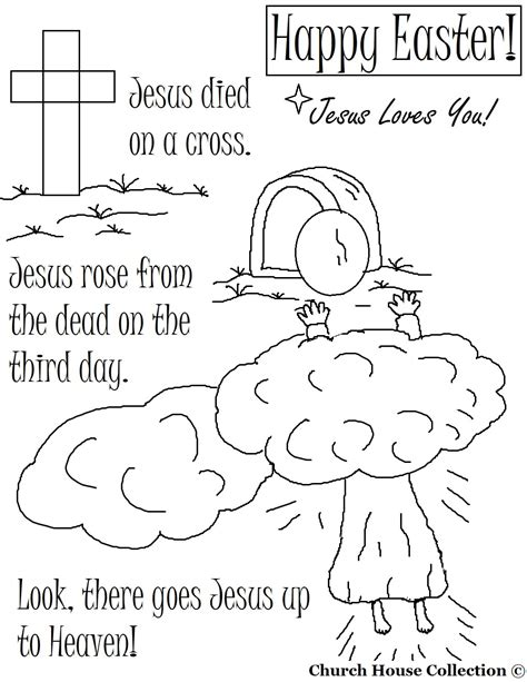 jesus resurrection coloring pages easter coloring pages