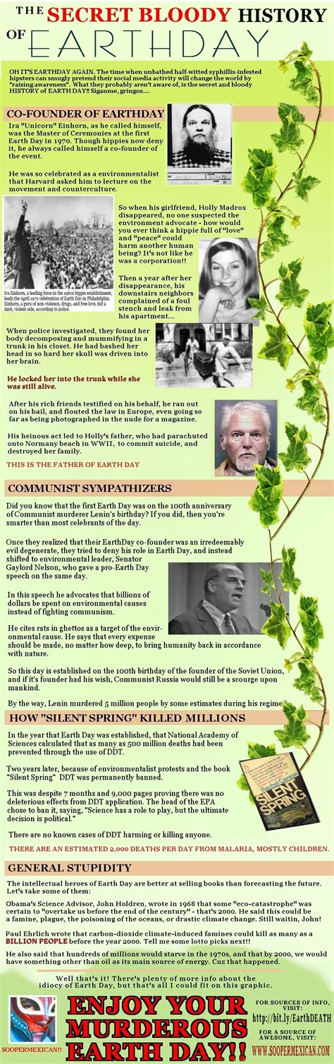 history of day for earth day 2013 the secret bloody history of earth day
