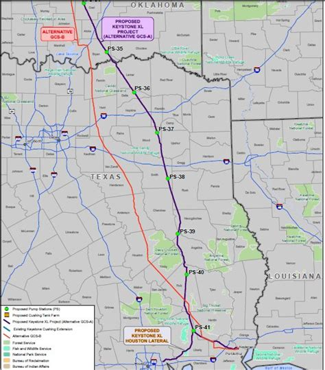 pipeline map texas where the keystone xl pipeline would go through texas stateimpact texas