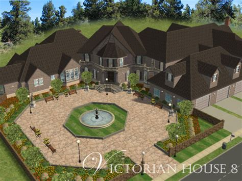 mod the sims the modern victorian mod the sims victorian house 8 mansion