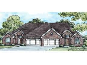 multi family house plan 031m 0020 duplex plan pinterest