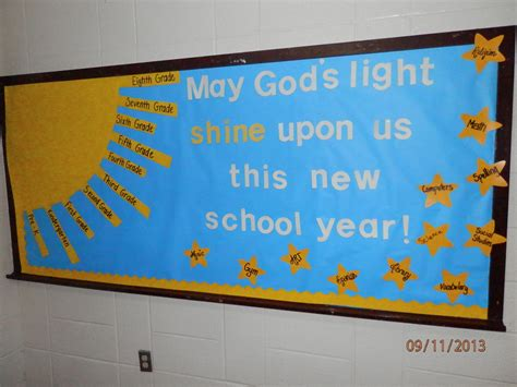 themes for christian education new school year bulletin board beginning of year