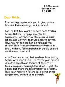 batman s letter