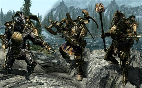 skyrim dwarven dwemer power armor space wiking dwemer exoskeleton at skyrim nexus mods and