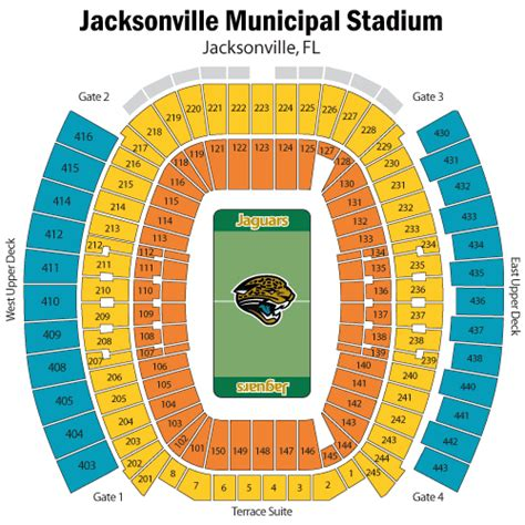 jaguars tickets seating chart everbank field history photos more of the site of